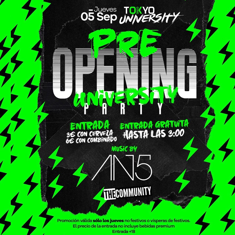 Pre Opening Party