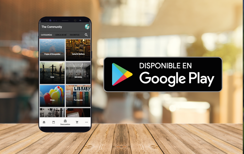 The Community en el Play Store